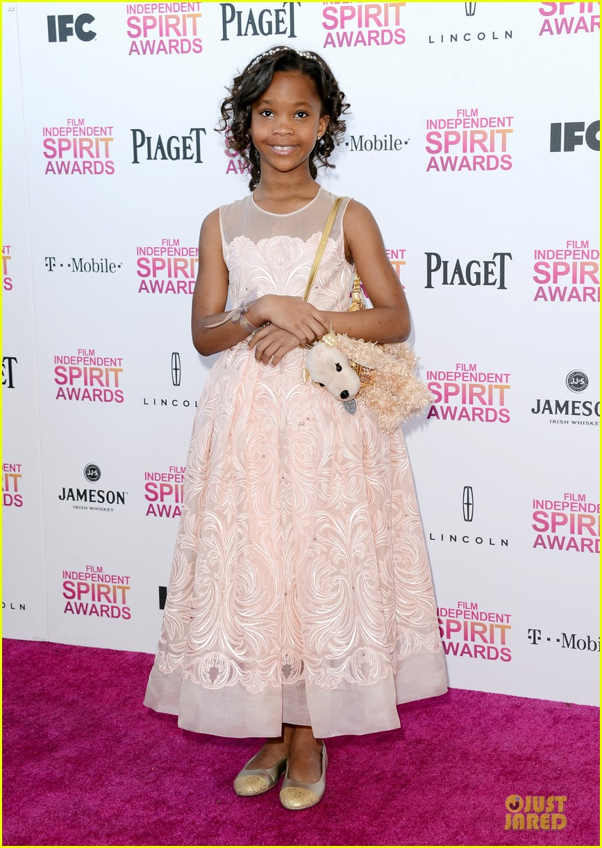 quvenzhane wallis independent spirit awards 2013 07
