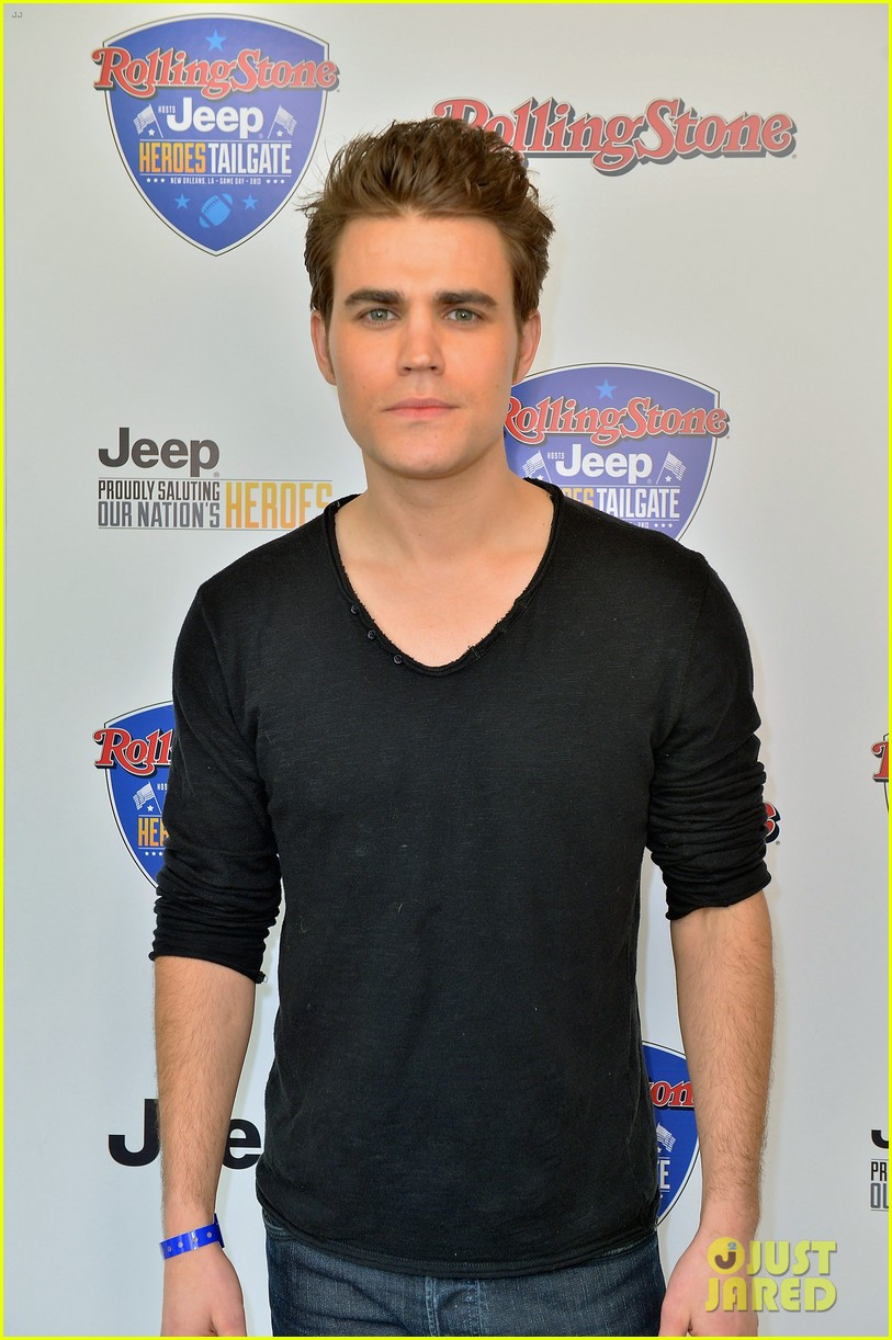 paul wesley torrey devitto super bowl tailgate party 06