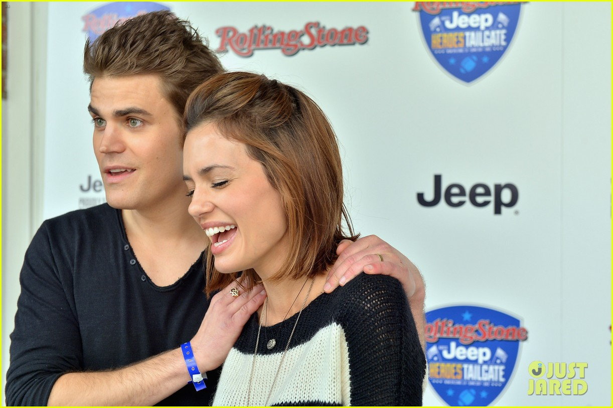 paul wesley torrey devitto super bowl tailgate party 14