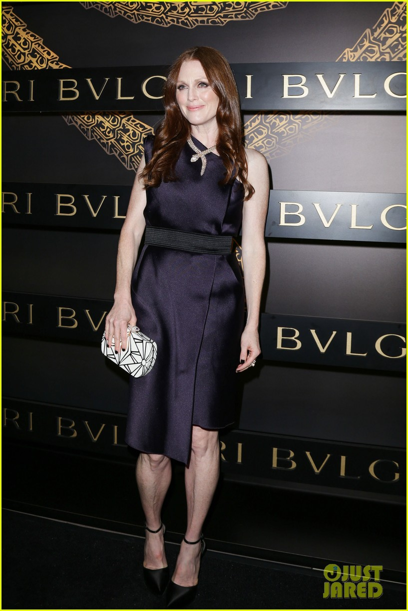 olivia wilde julianne moore bulgari serpenti event 082808478