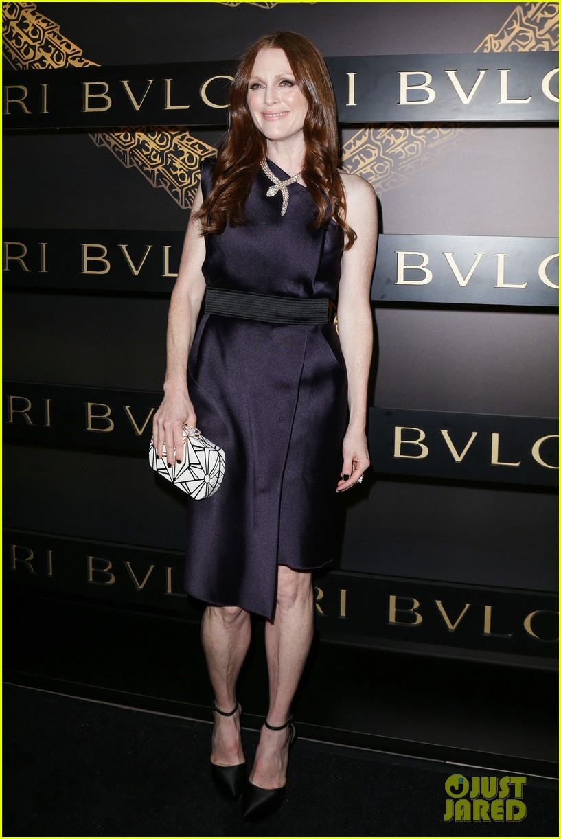 olivia wilde julianne moore bulgari serpenti event 092808479