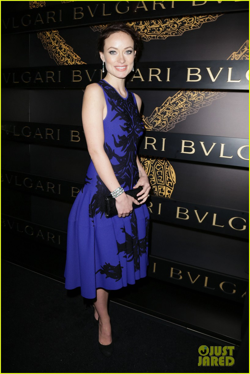 olivia wilde julianne moore bulgari serpenti event 17