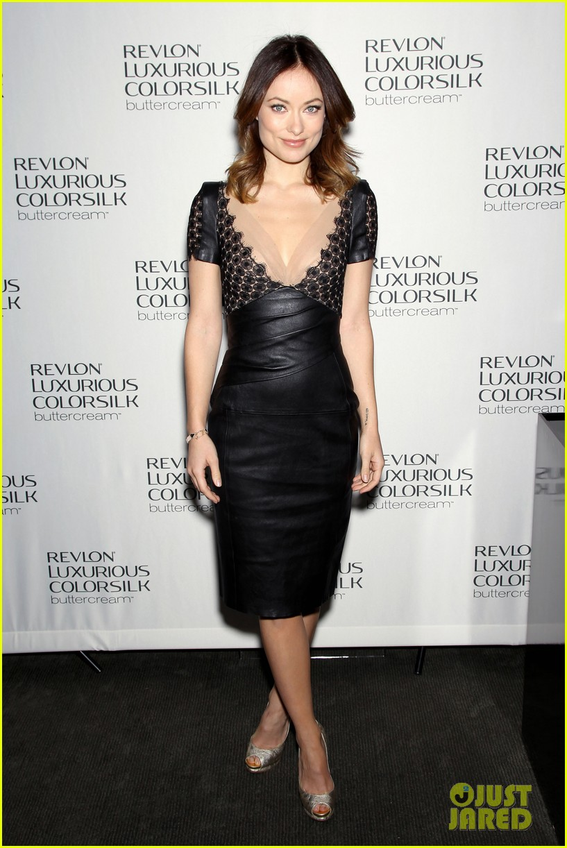 olivia wilde revlon colorsilk buttercreme launch 01