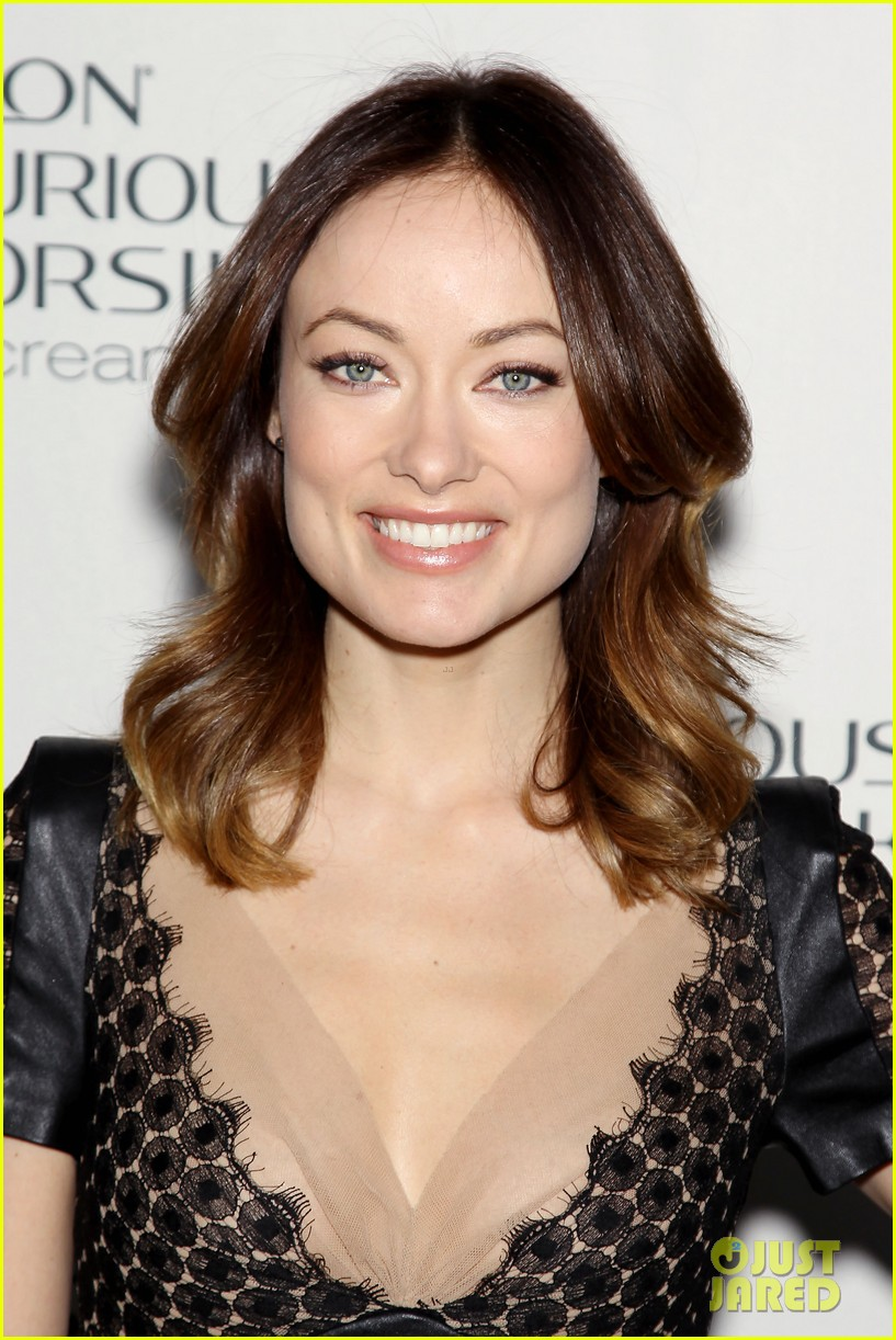 olivia wilde revlon colorsilk buttercreme launch 082806394