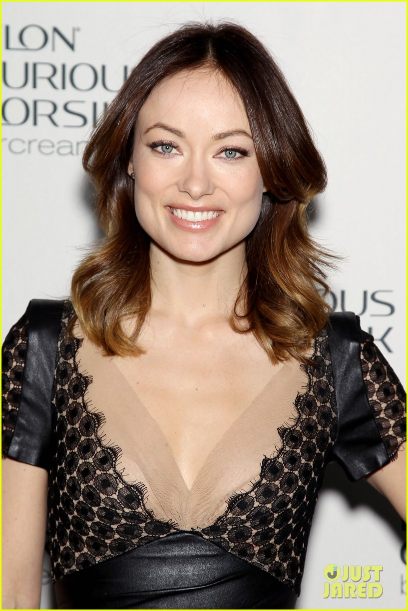 olivia wilde revlon colorsilk buttercreme launch 09