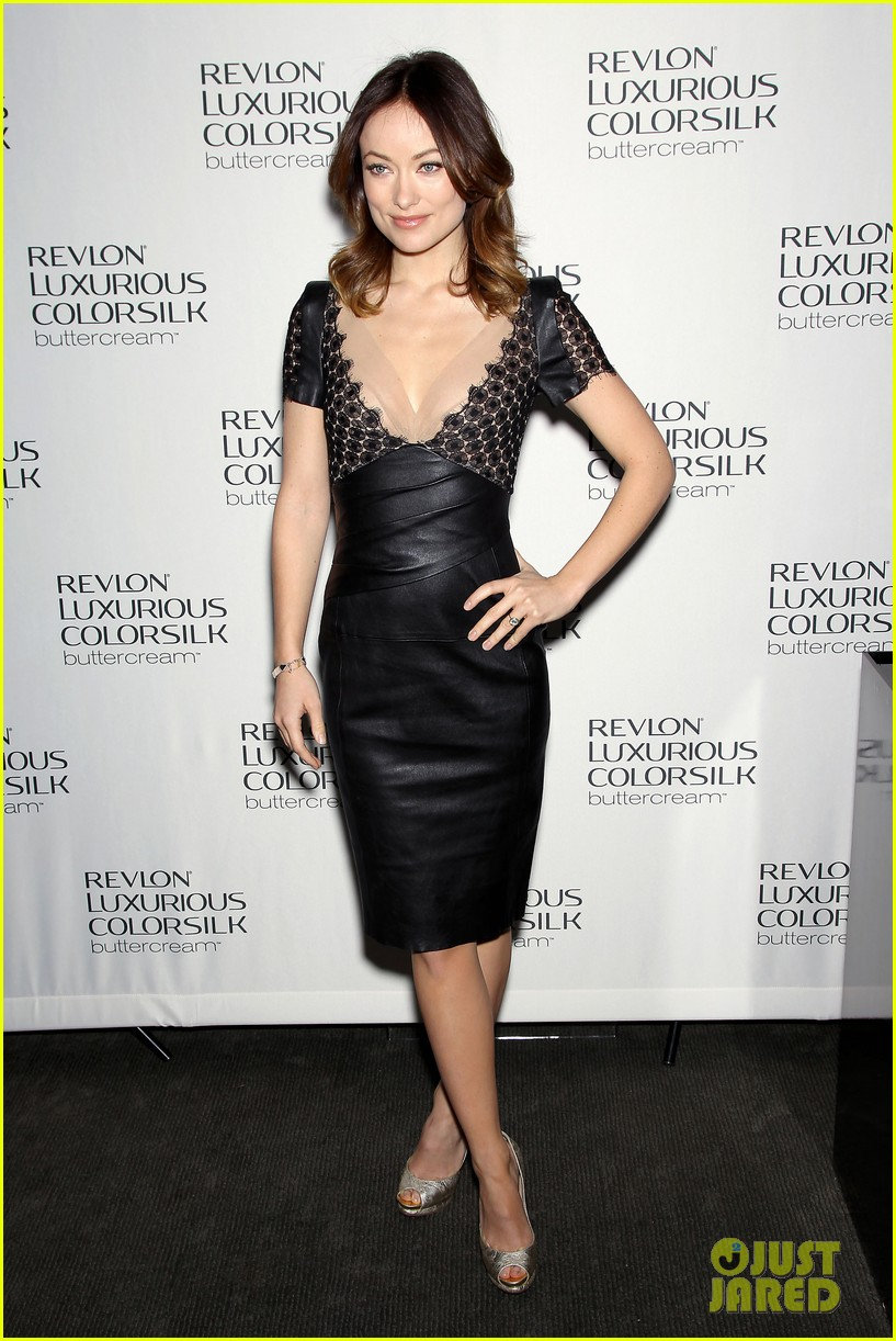 olivia wilde revlon colorsilk buttercreme launch 102806396