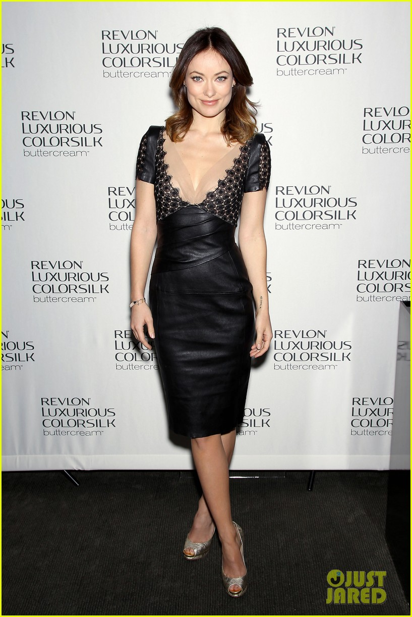 olivia wilde revlon colorsilk buttercreme launch 122806398