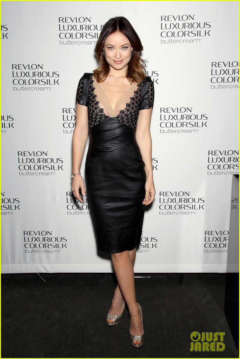 olivia wilde revlon colorsilk buttercreme launch 132806399
