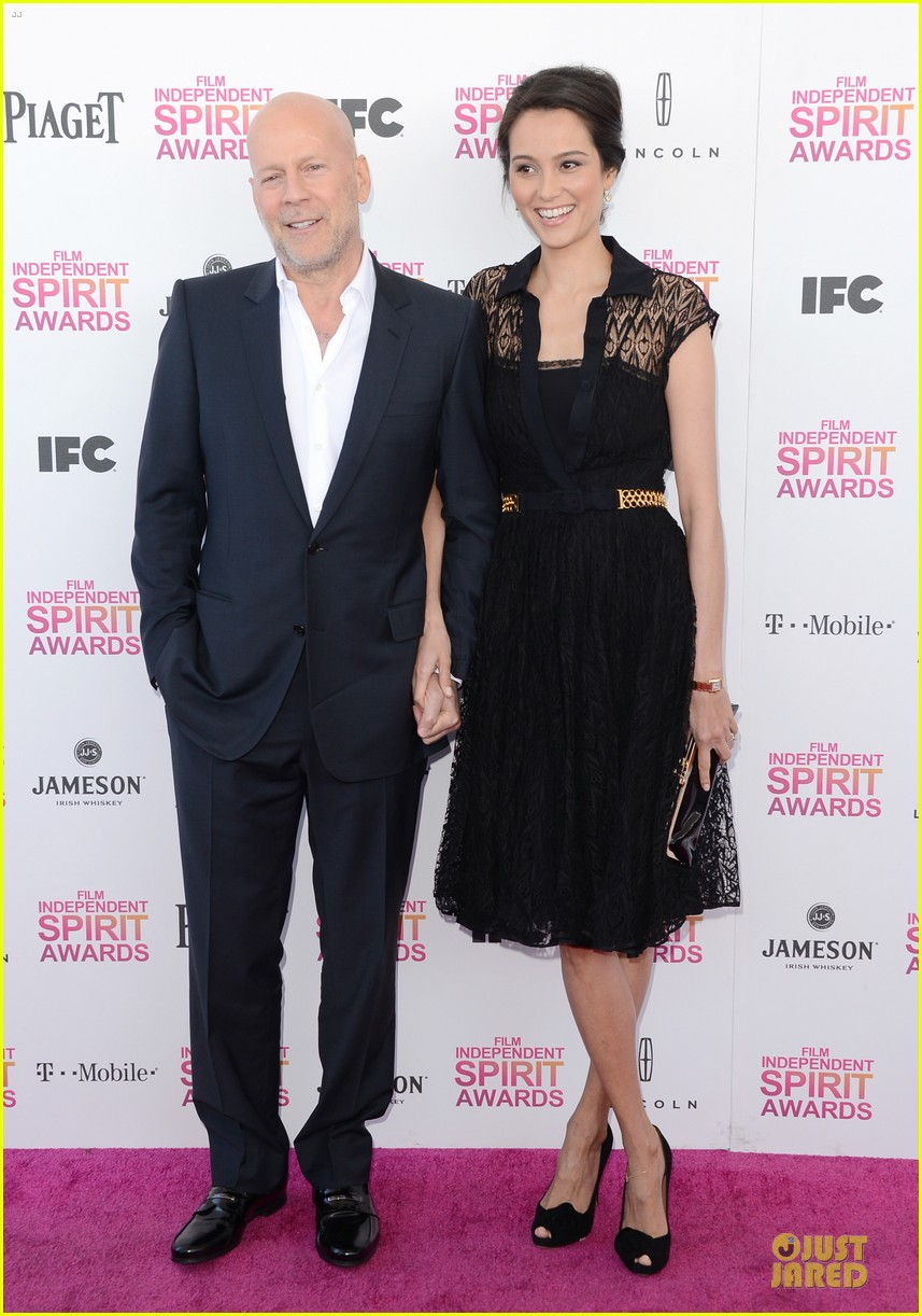 bruce willis emma heming independent spirit awards 2013 01