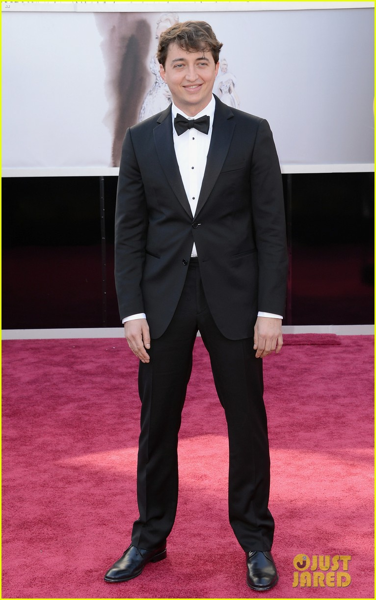 benh zeitlin dwight henry oscars 2013 red carpet 01