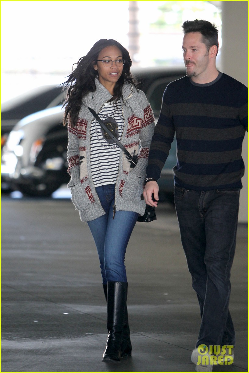 zoe saldana beverly hills beauty 11