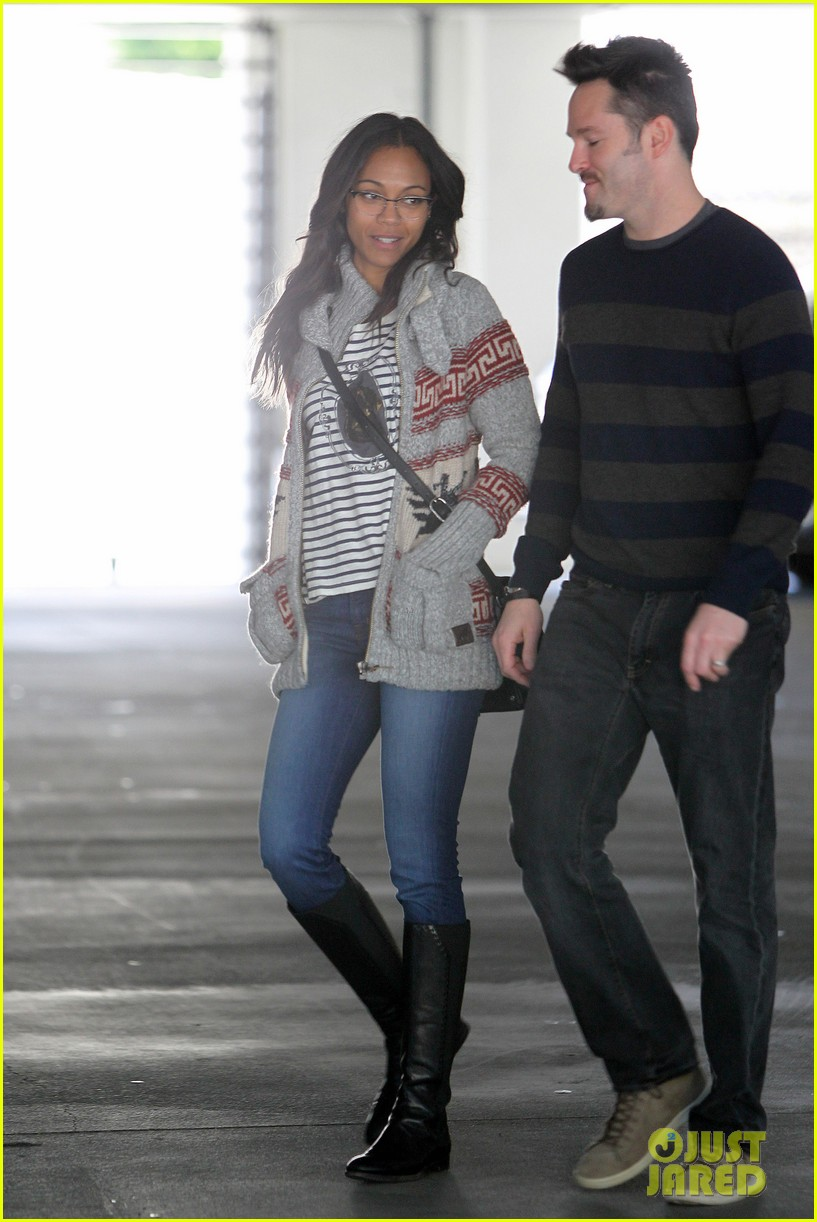 zoe saldana beverly hills beauty 182810631