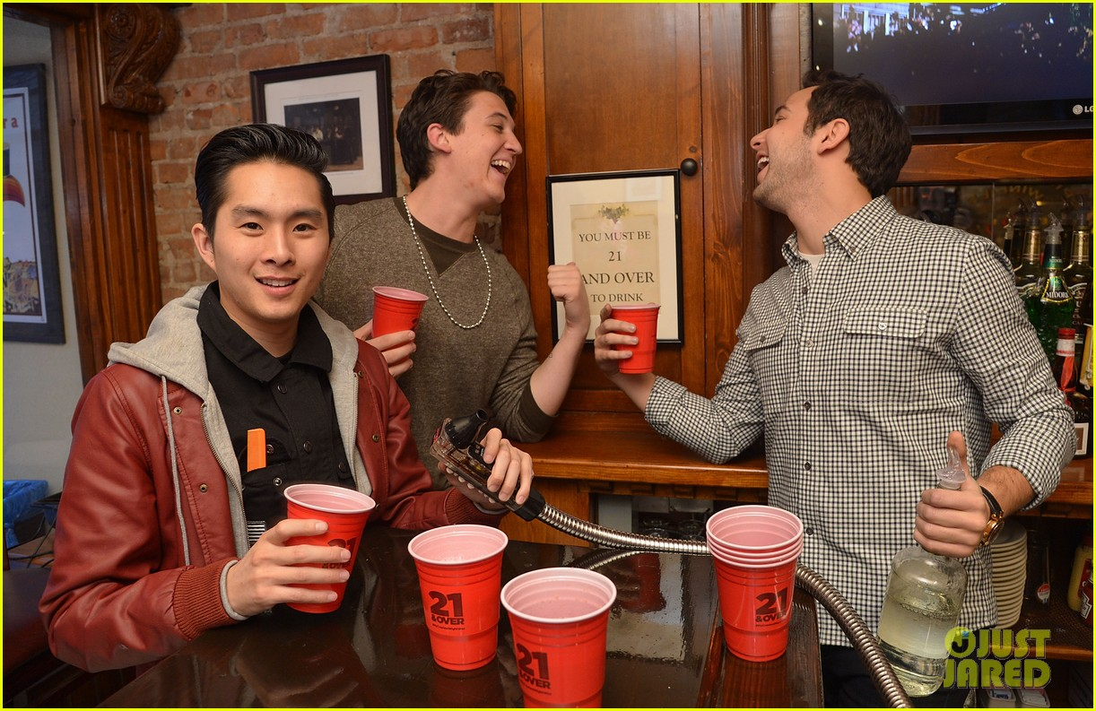 miles teller skylar astin justjared exclusive interview 10