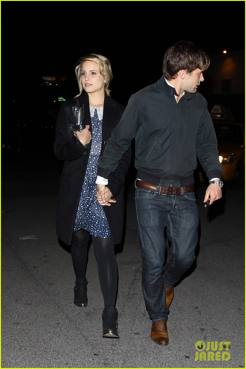 dianna agron christian cooke holding hands at sayers club 08
