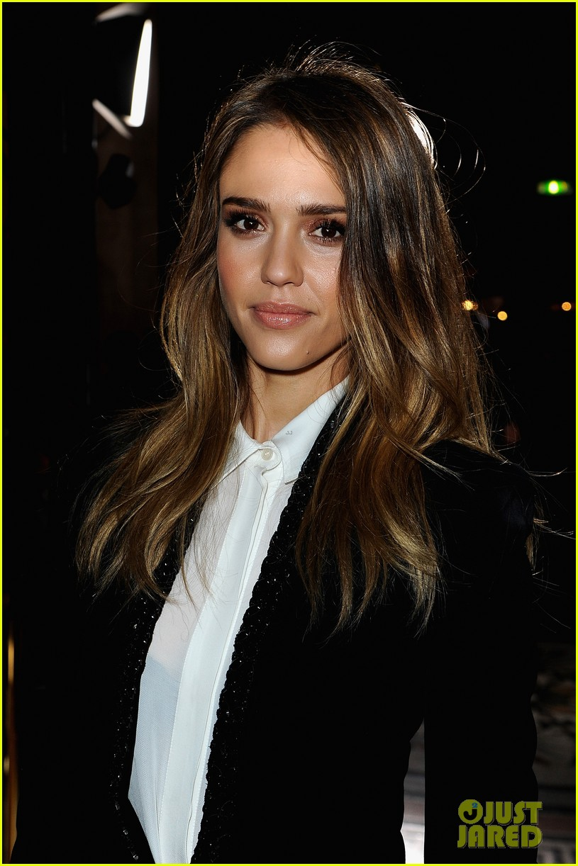 jessica alba nicole richie stella mccartney fashion show 082824754