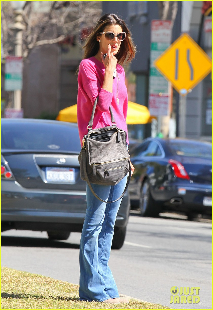 alessandra ambrosio candice swanepoel separate solo outings 092830281