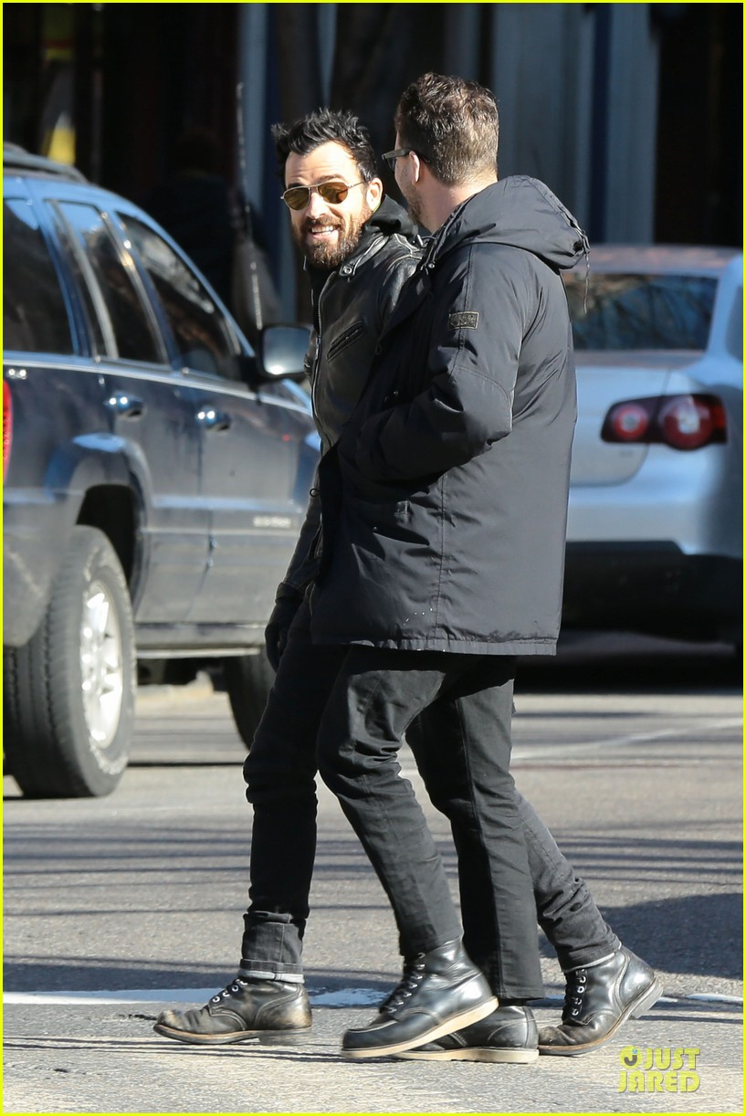 jennifer aniston justin theroux different state outings 09