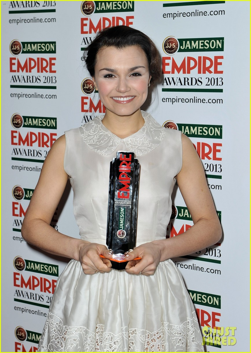 samantha barks tom holland empire awards winners 02