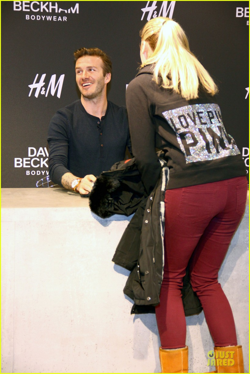 david beckham hm bodywear promotion in berlin 12
