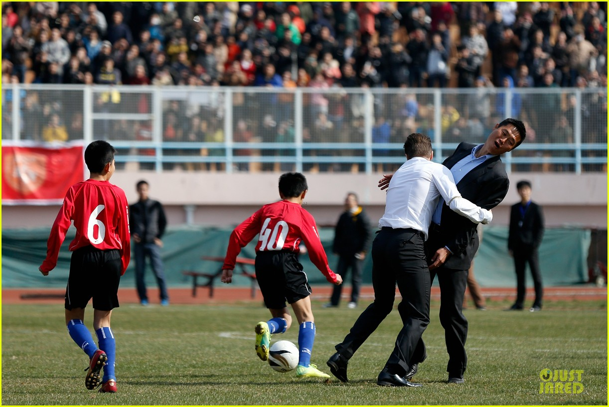 david beckham qingdao jonoon football club 21
