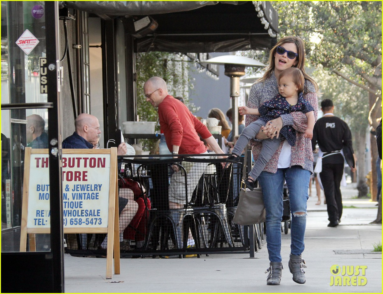 rachel bilson godmother duties in hollywood 01