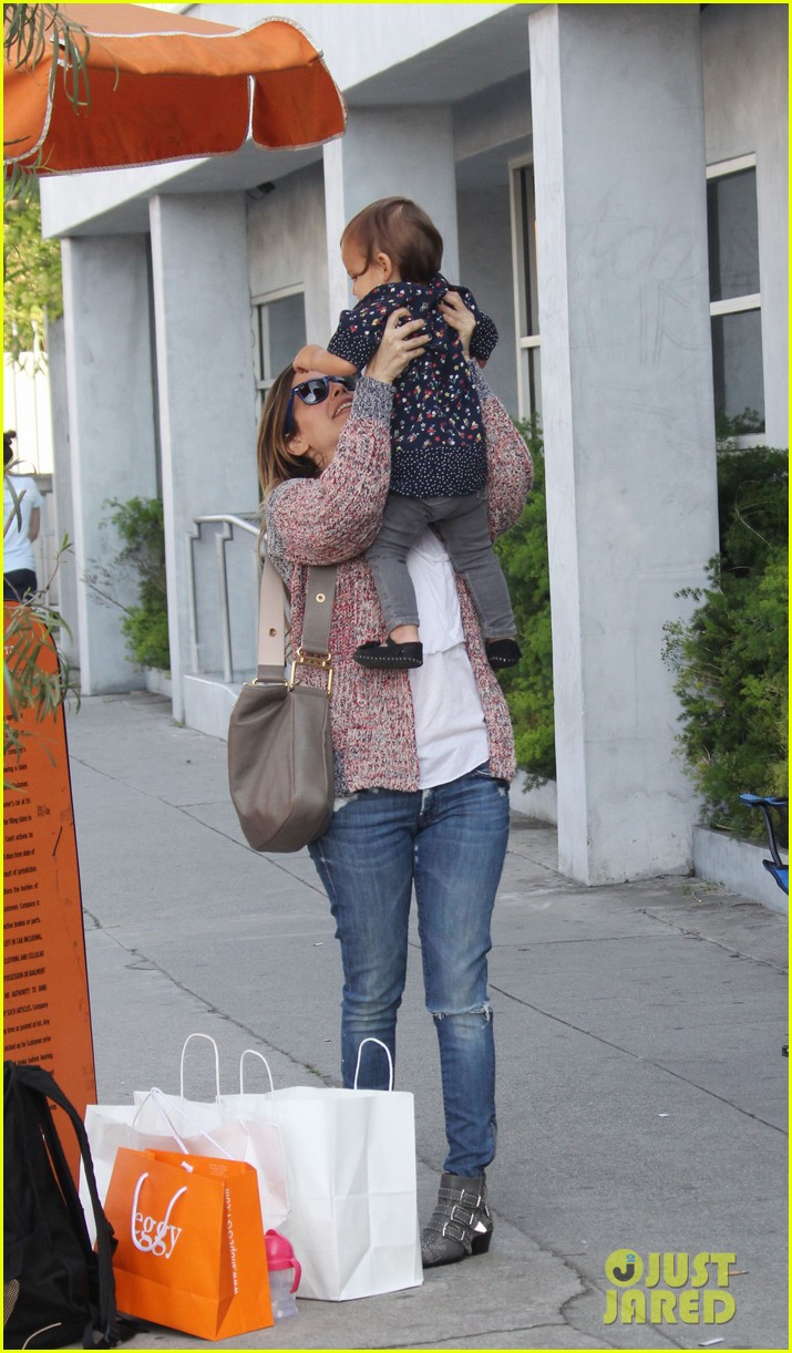 rachel bilson godmother duties in hollywood 04