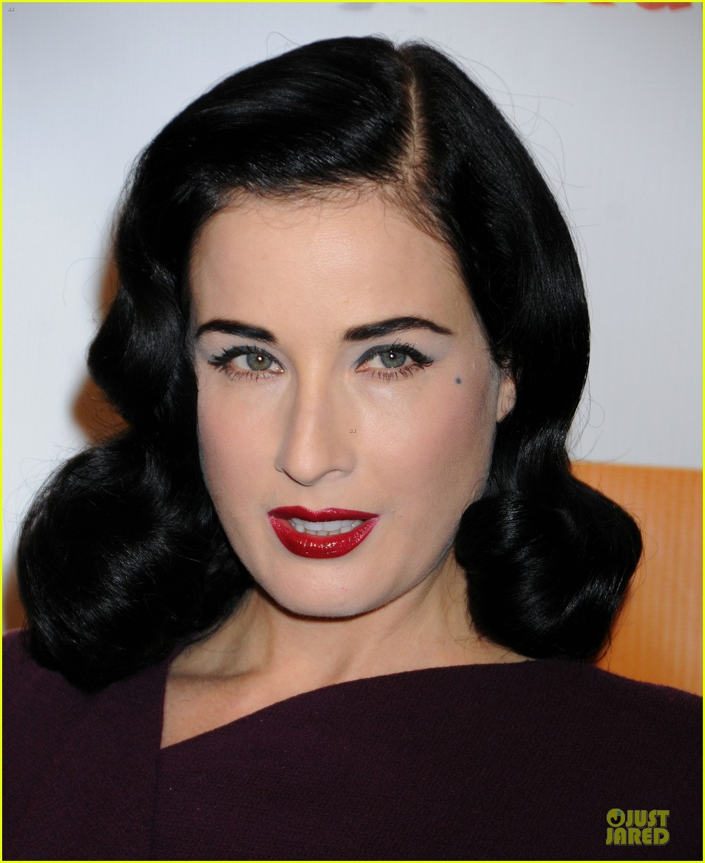 matt bomer dita von teese the beauty detox book launch party 11