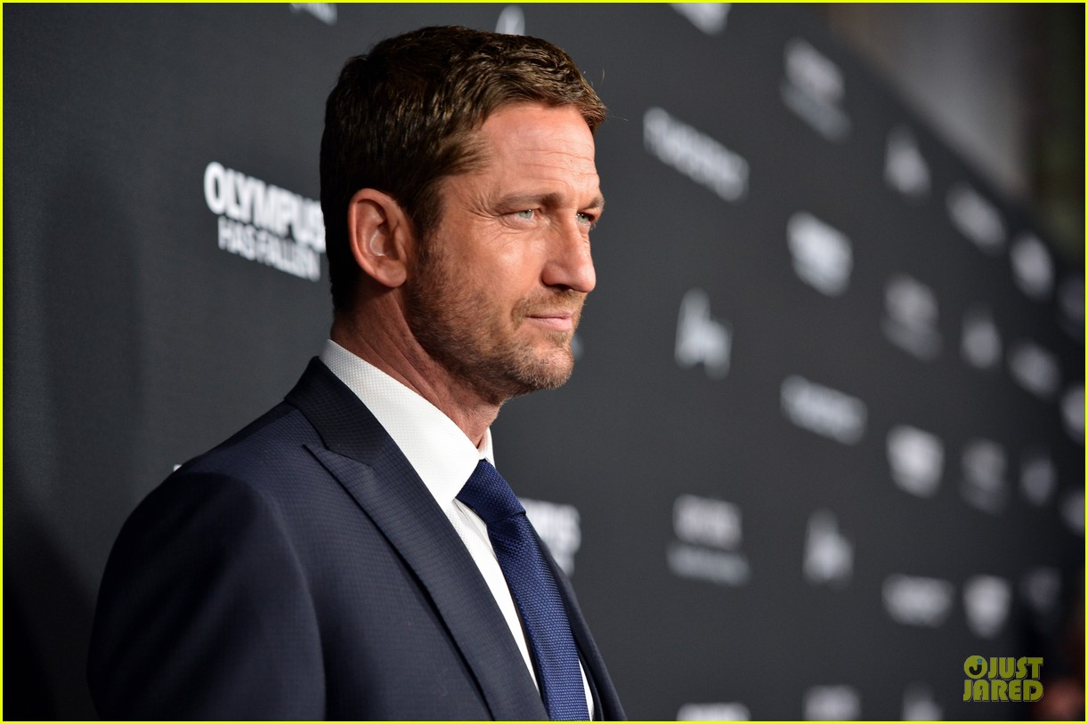 gerard butler olympic has fallen hollywood premiere 10