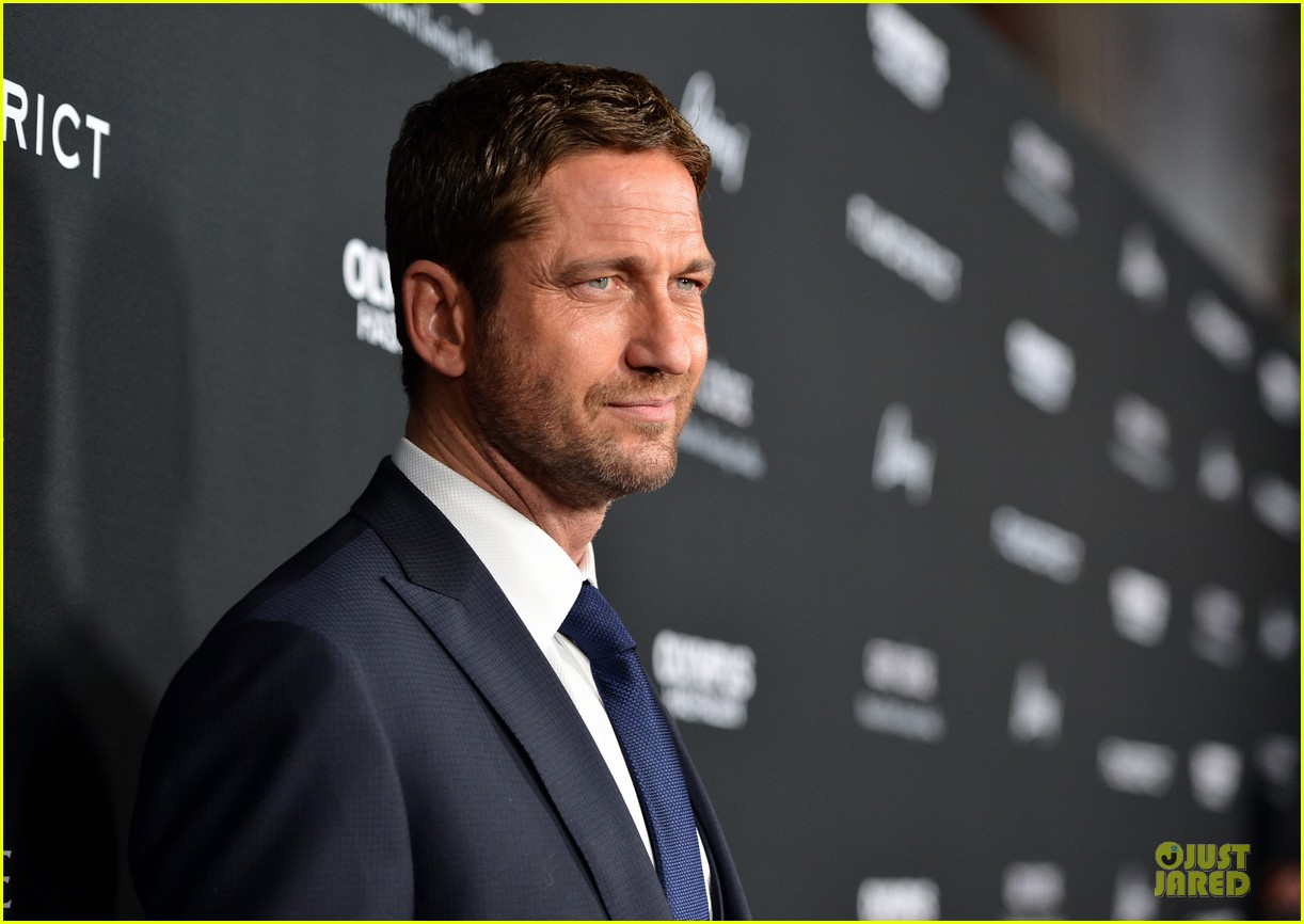 gerard butler olympic has fallen hollywood premiere 142833103