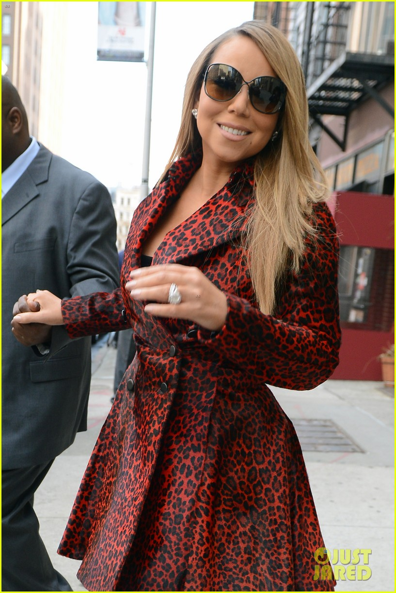 mariah carey fallon live with kelly michael visits 042823342