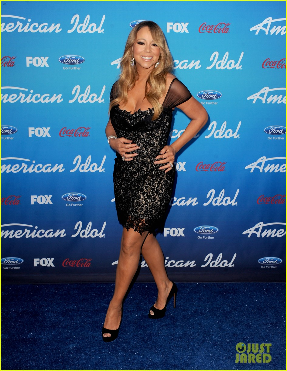 mariah carey american idol 2013 season 12 finalists party 01