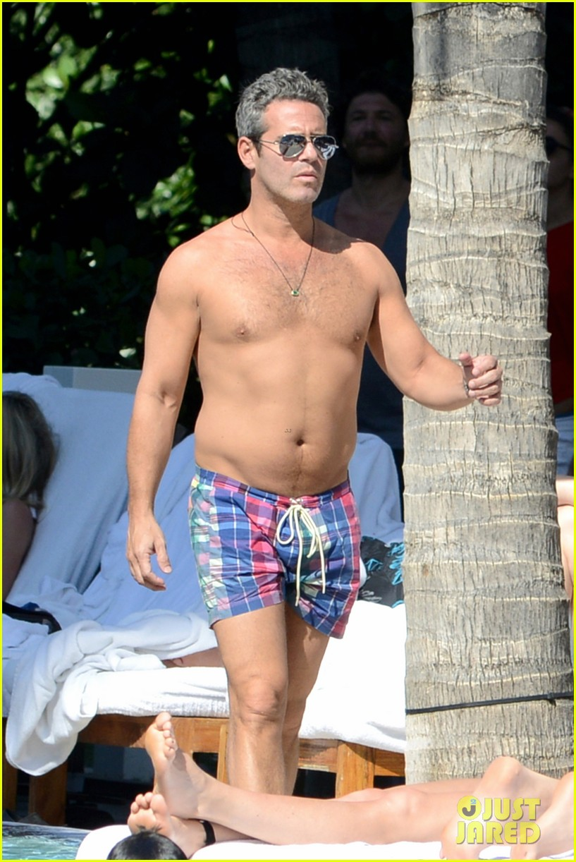 andy cohen sean avery shirtless anniversary 122836739