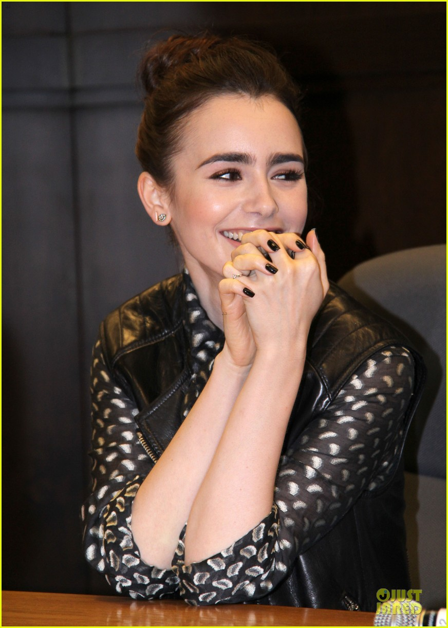 lily collins clockwork princess book release 04