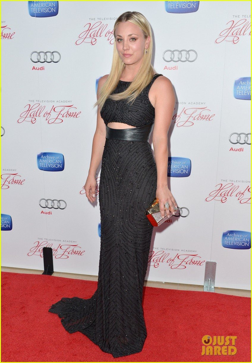 kaley cuoco will arnett academy hall of fame gala 11