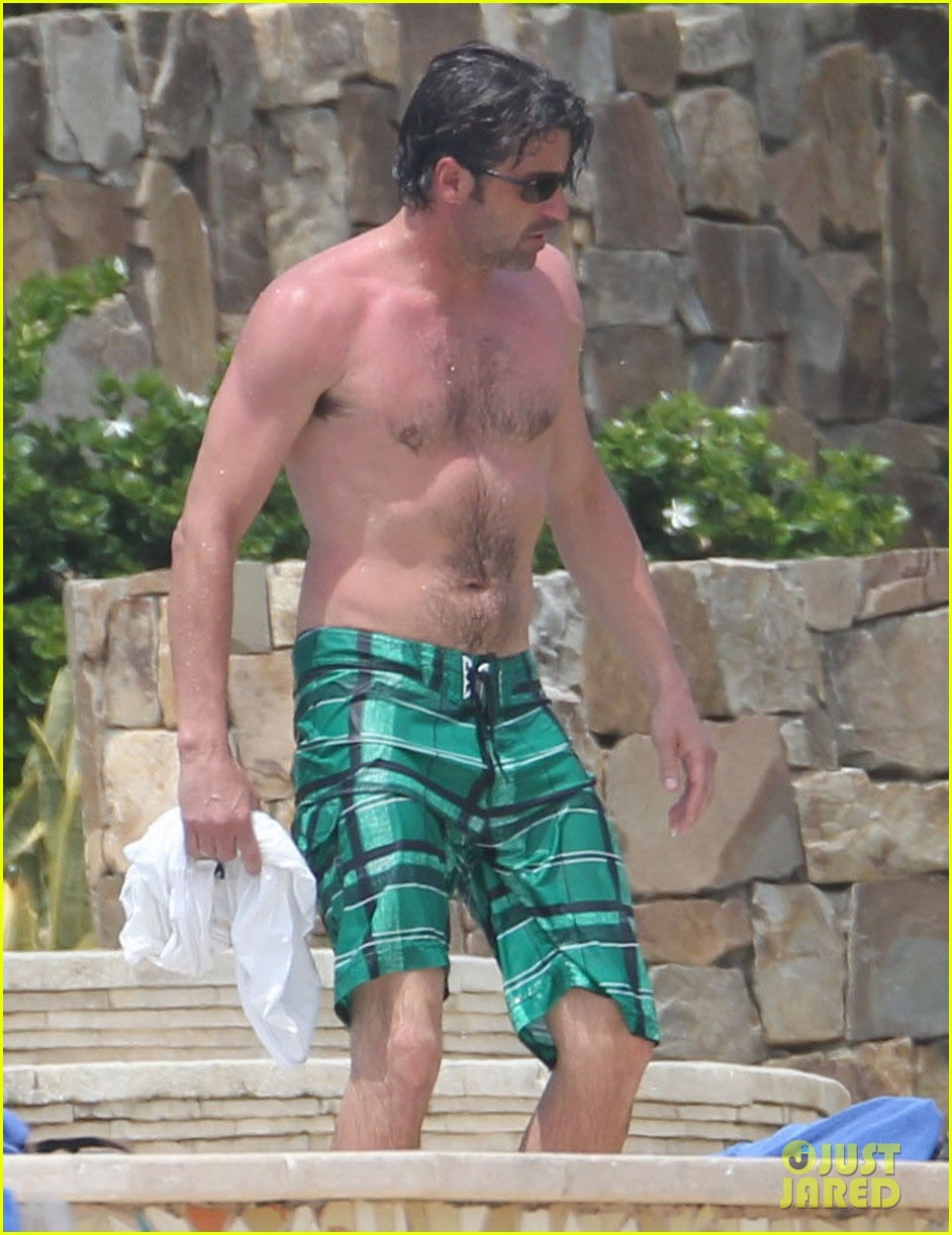 patrick dempsey shirtless family vacation in cabo 142840626