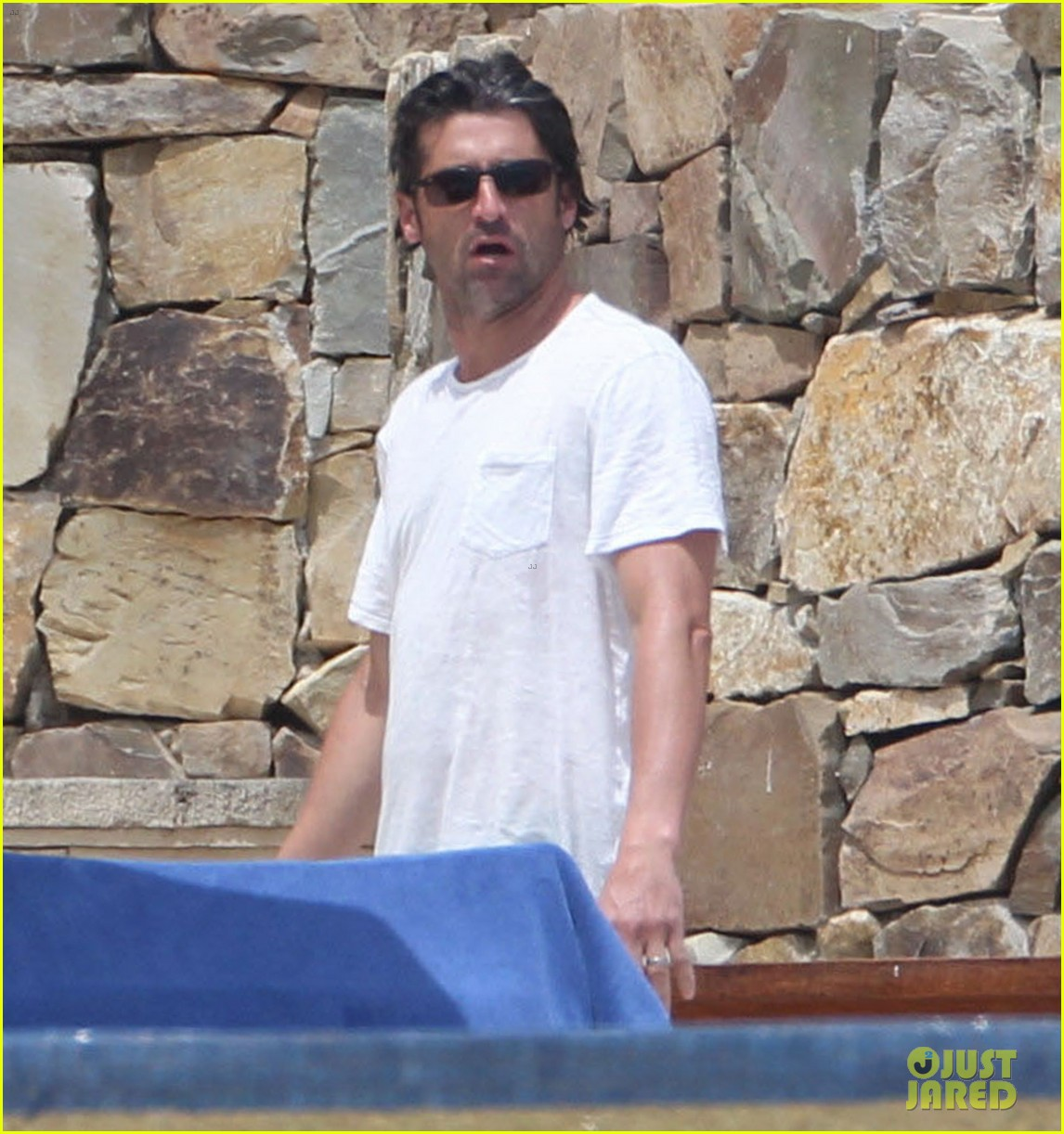 patrick dempsey shirtless family vacation in cabo 182840630