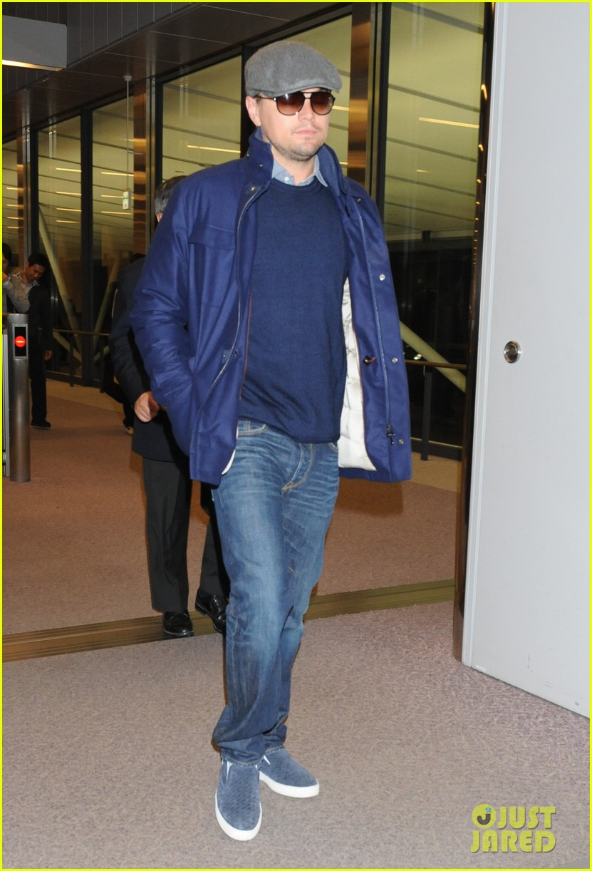 leonardo dicaprio from los angeles to japan 032822888