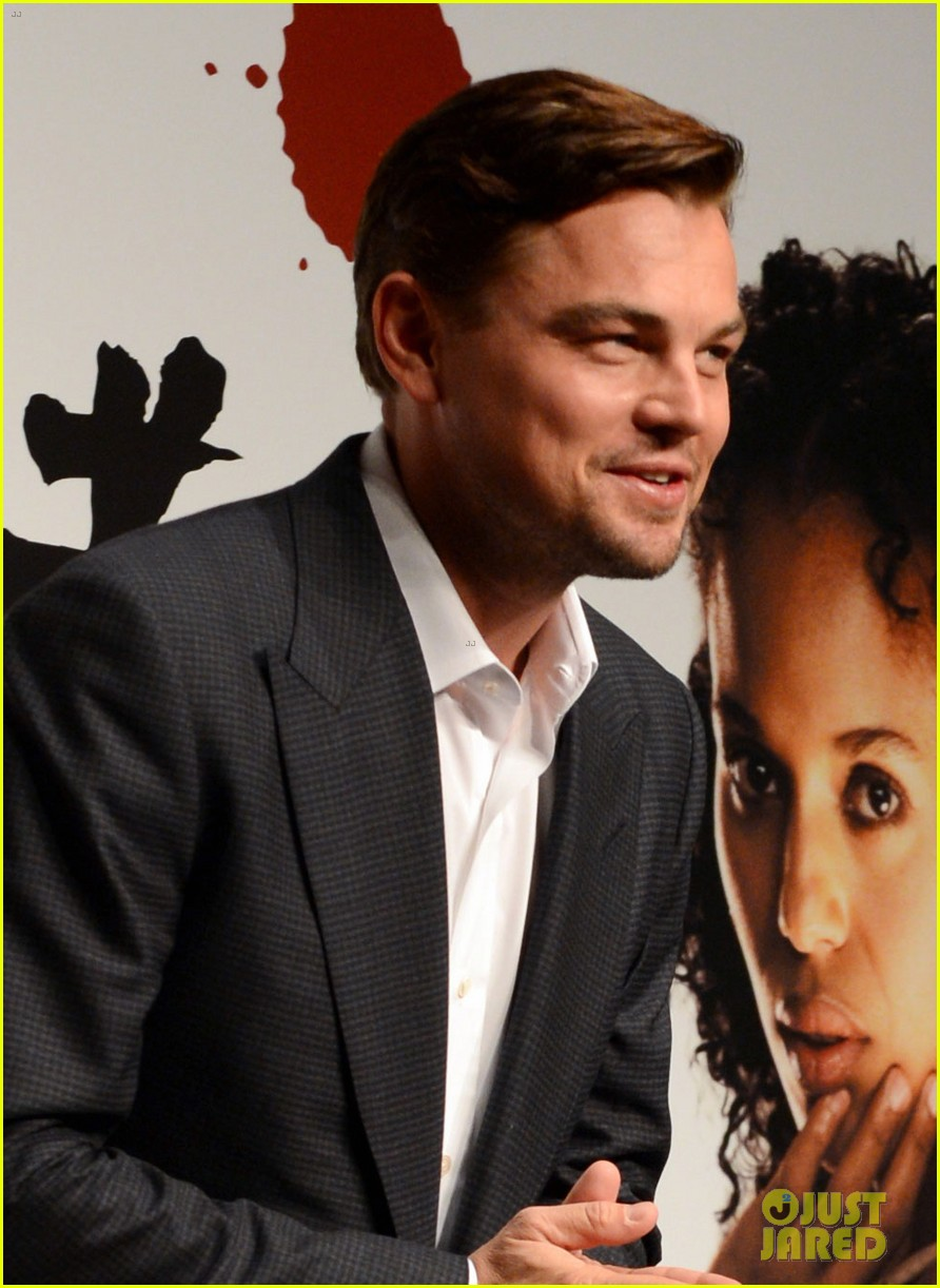 leonardo dicaprio django unchained tokyo press conference 05