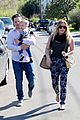 hilary duff mike comrie birthday party with luca 07
