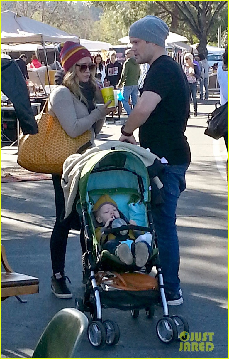hilary duff family fun weekend with luca 152828952