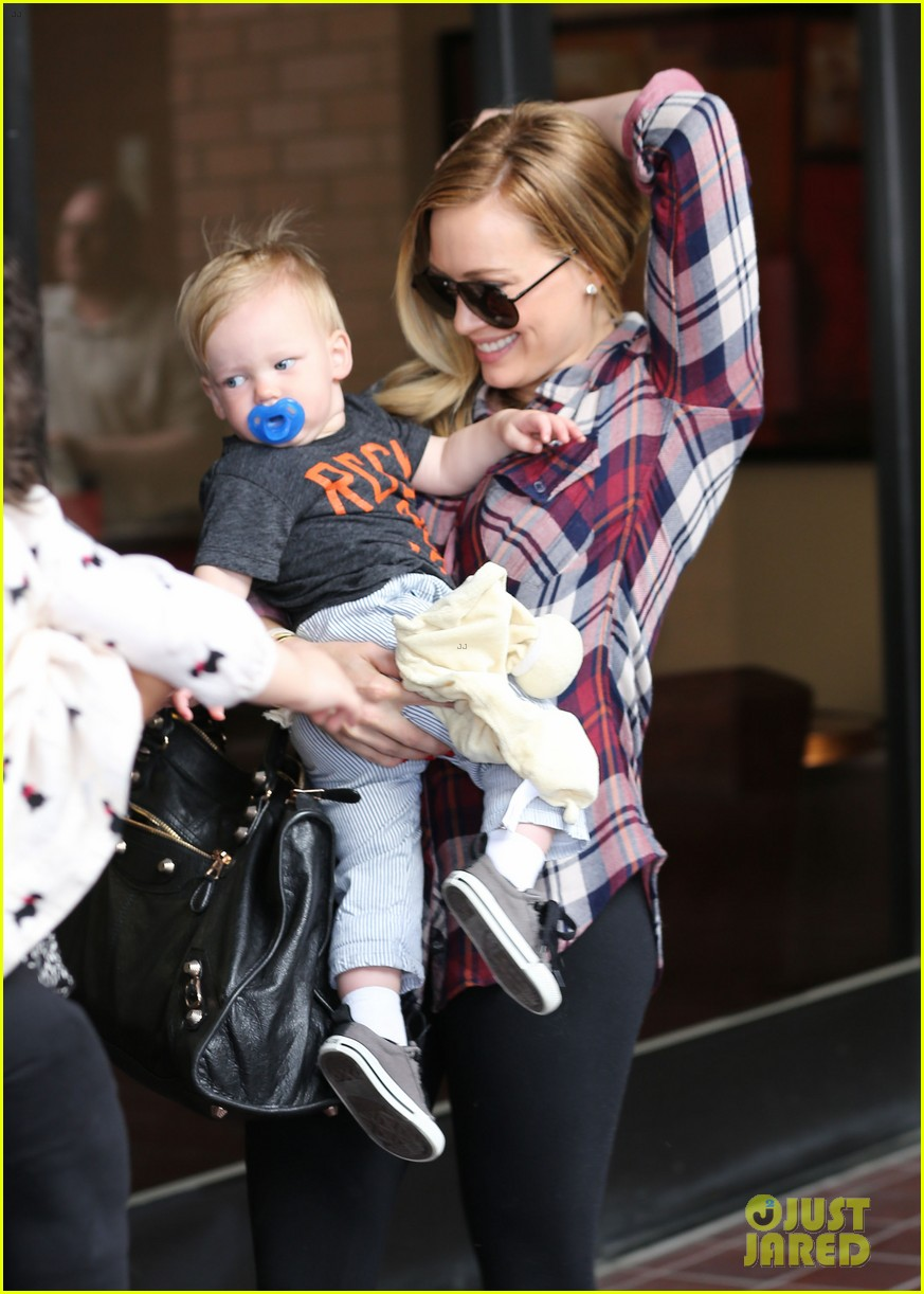 hilary duff baby luca turns 1 022834976