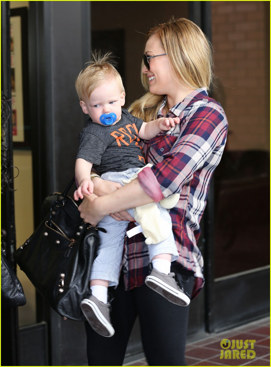 hilary duff baby luca turns 1 04