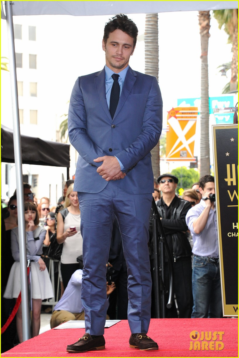 james franco hollywood walk of fame star ceremony 11