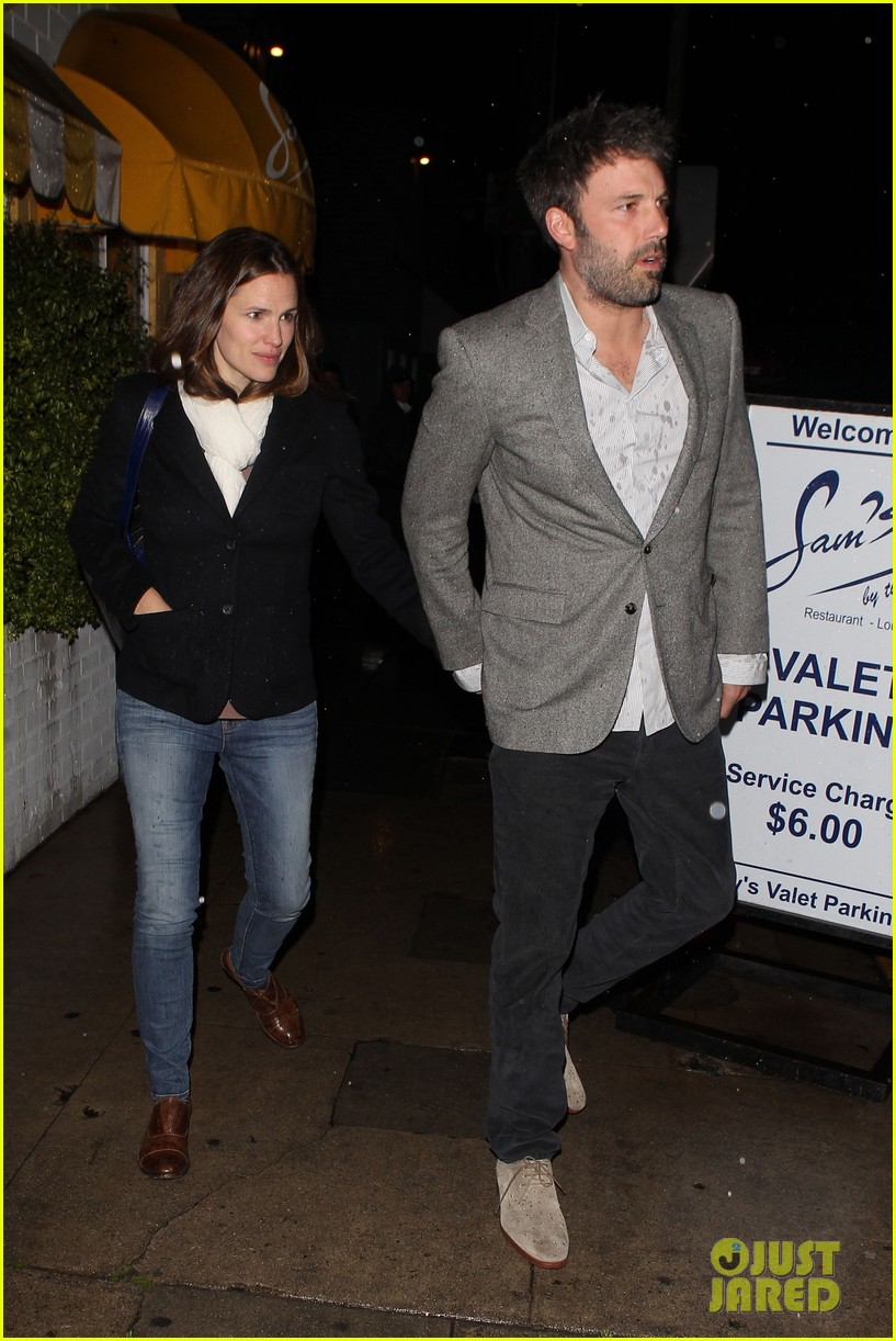 ben affleck jennifer garner sams by the beach dinner date 252827262