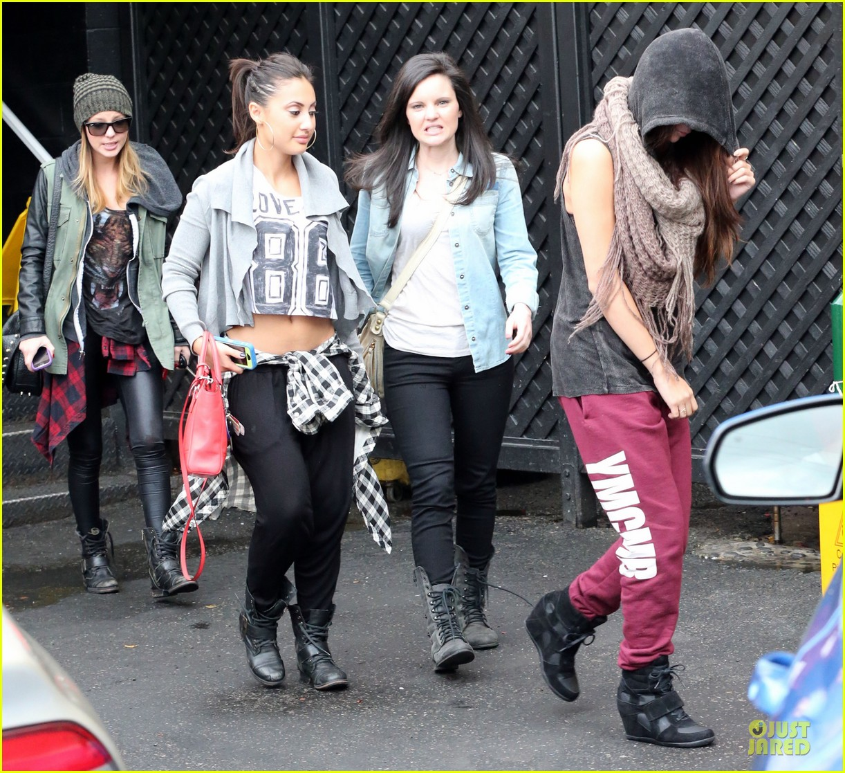 Francia Raisa And Selena Gomez Dancing Selena Gomez Dance Studio With