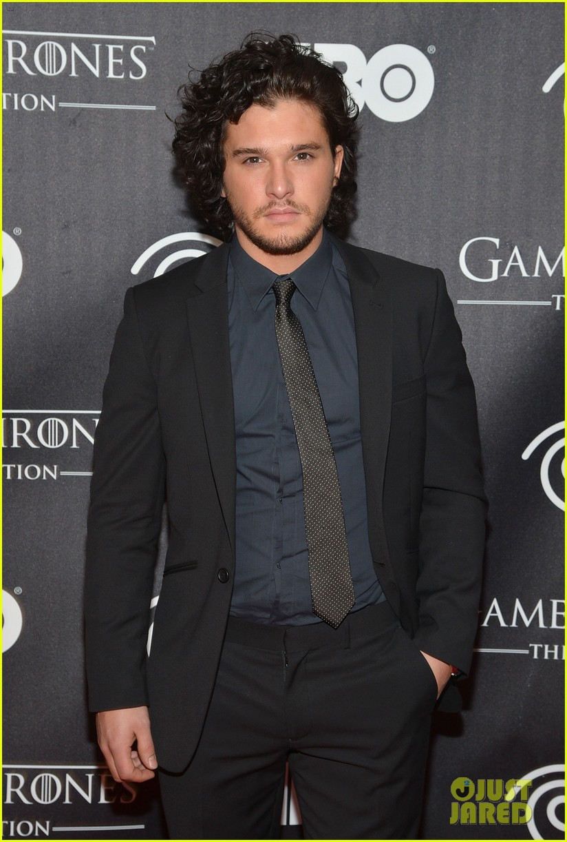 kit harington game of thrones exhibition opening 042838921