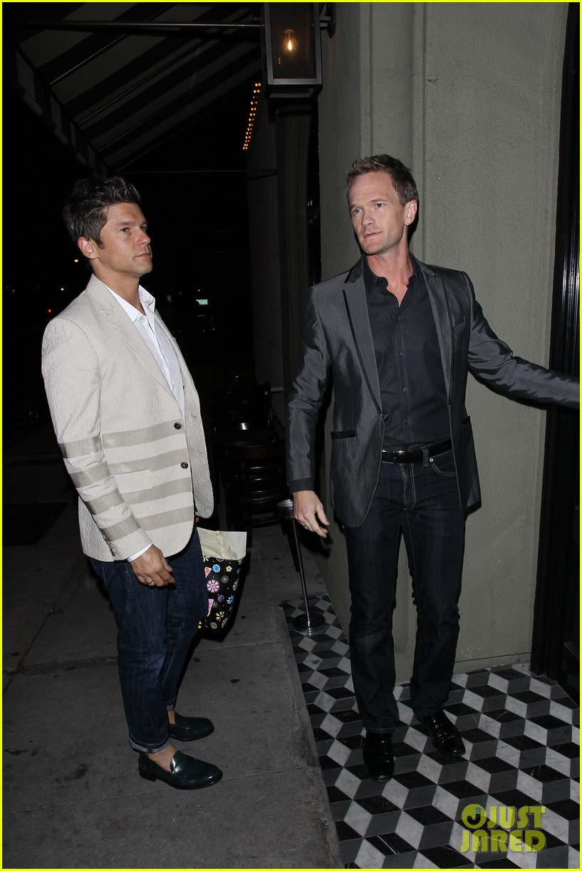 niel patrick harris elton johns birthday party with david burtka 052838057