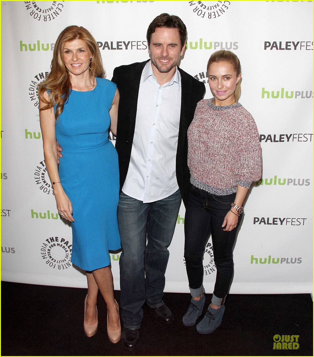 hayden panettiere connie britton paleyfest with nashville cast 01