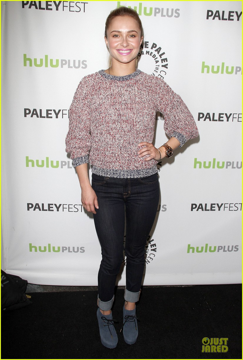 hayden panettiere connie britton paleyfest with nashville cast 23