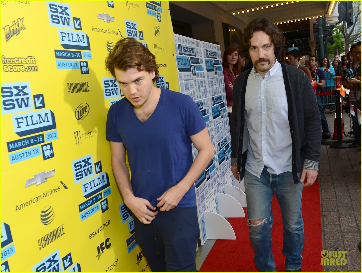 emile hirsch paul rudd prince avalanche sxsw screening 062827973